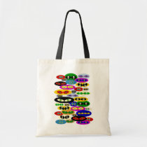 Cute Cats Eyes For Cat Lovers Canvas Tote Bag at Zazzle