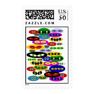 Cute Cats Eyes For Cat Lovers Postage