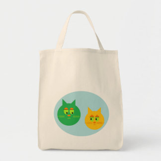 Cute Cats Grocery Tote Canvas Bags
