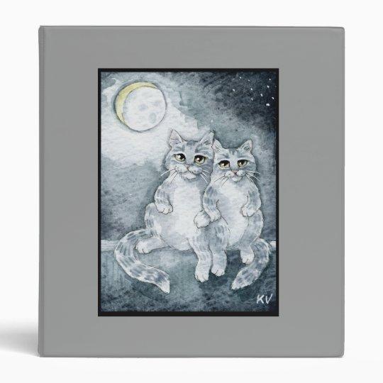 Cute cats in love Binder