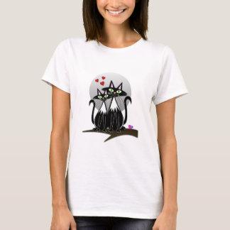 Cute Cats in Love T-Shirt