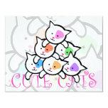 CUTE CATS INVITES