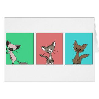 Cute Cats (Meet the Mews) Card