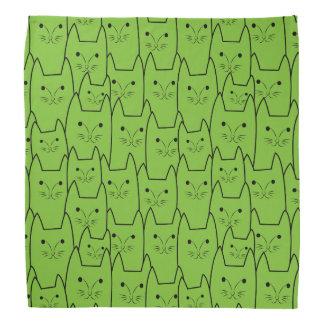 Cute cats pattern bandana