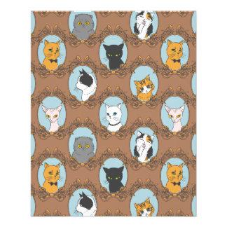 Cute Cats Pattern Flyer