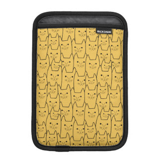 Cute cats pattern sleeve for iPad mini