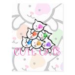 CUTE CATS POST CARD