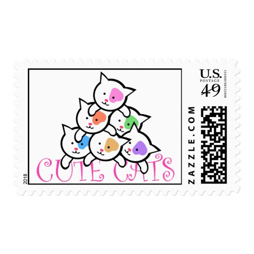 CUTE CATS POSTAGE
