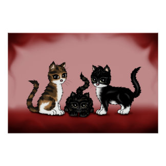 cute Cats poster