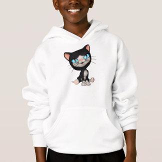 Cute Cats: PussPuss the Cute Cartoon Kitten Hoodie