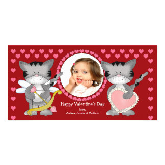 Cute Cats Valentine's Day Card
