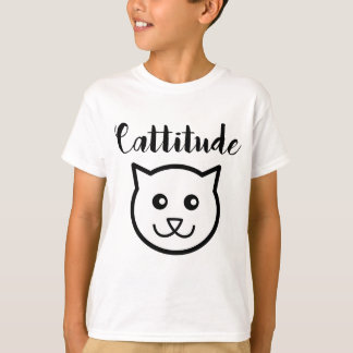 Cute Cattitude Smiling Cat Shirt