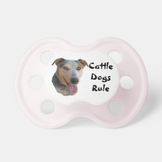 Cute Cattle Dog Pacifier