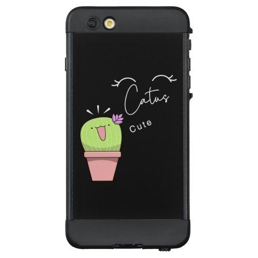 Cute Catus LifeProof NÜÜD iPhone 6 Plus Case