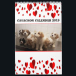 "Cute Cavachons Calendar<br><div class=""desc"">Cute Cavachon Calendar 2019 is the perfect gift for the Cavachon lover or any dog lover. Cavalier King Charles Spaniel and the Bichon make beautiful puppies.</div>"