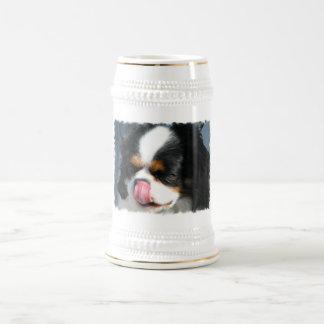 Cute Cavalier Spanial Dog  Beer Stein Coffee Mugs
