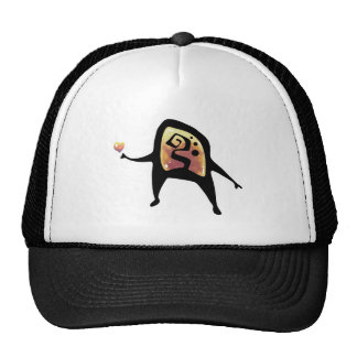 Cute Cave Painting Hat Trucker Hats