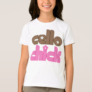 Cute Cello Chick T-Shirt