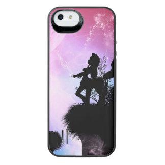 Cute centaurs silhouette iPhone SE/5/5s battery case