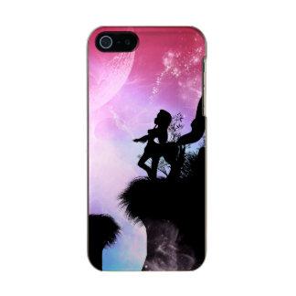 Cute centaurs silhouette metallic iPhone SE/5/5s case