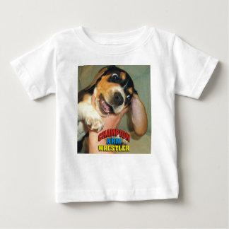 Cute Champion Arm Wrestler Beagle Pup Shirt