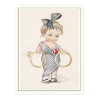 Cute Charles Twelvetrees Postcard Illustration