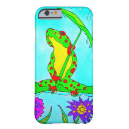 Cute Charlie The Frog iPhone Case