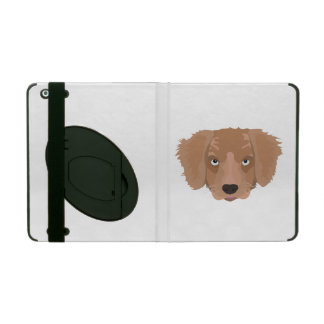 Cute cheeky Puppy iPad Cases