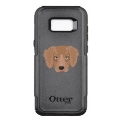 OtterBox Commuter Samsung Galaxy S8+ Case with Golden Retriever Phone Cases design
