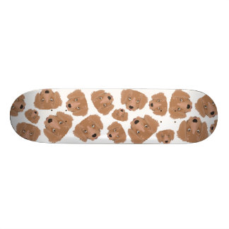 Cute cheeky Puppy Skateboard