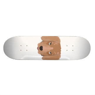 Cute cheeky Puppy Skateboard Deck