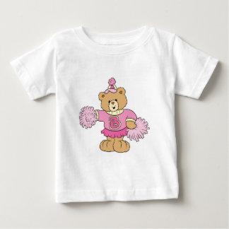 Cute Cheeleader Bear Baby T-Shirt
