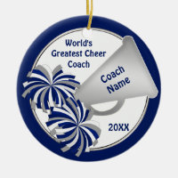 Cute Cheer Coach Gift Ideas Personalized
