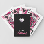 Cute Cheering Bicycle Playing Cards