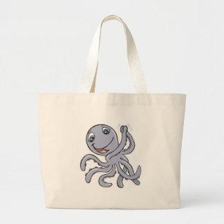 cute cheering octopus bag