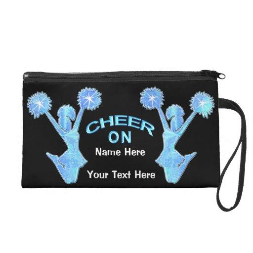 Cute Cheerleading Gift Ideas Personalized Purse Wristlet Clutch ...