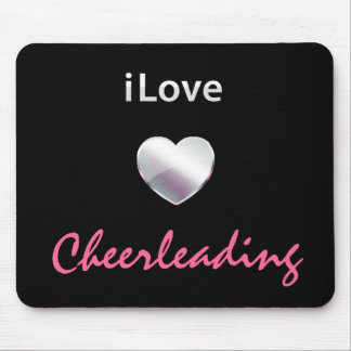 Cute Cheerleading Mouse Pad