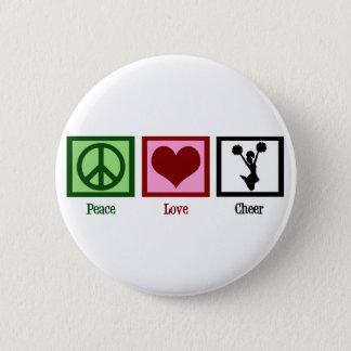 Cute Cheerleading Pinback Button