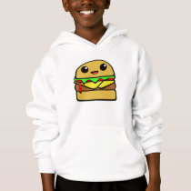 Cute Cheese Burger Hoodie