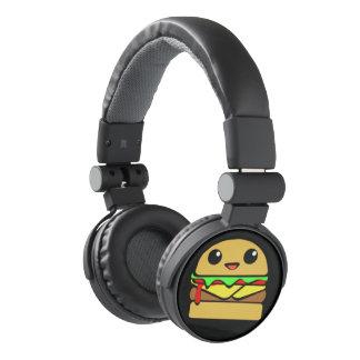 Cute Cheeseburger Character Headphones