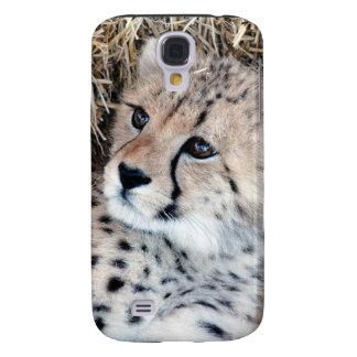 Cute Cheetah Cub Photo Samsung Galaxy S4 Cover