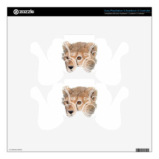 Cute Cheetah Cub PS3 Controller Decals
