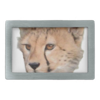 Cute Cheetah Cub Rectangular Belt Buckle