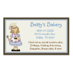 Cute Chef Business Card & Coupon