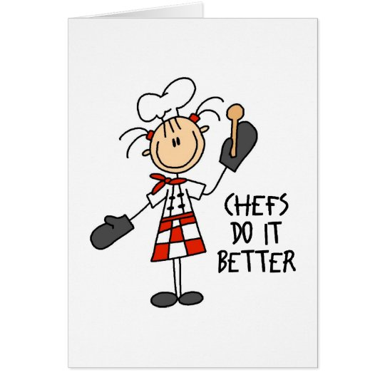 Cute Chef Gift Card