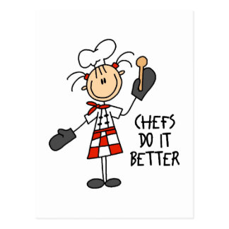 Cute Chef Gift Postcard