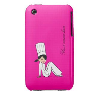 Cute Chef iPhone 3G Razor Case iPhone 3 Cover