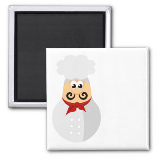 Cute Chef Magnet for personalizing