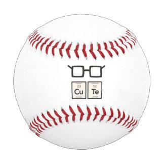 Cute chemical Element Nerd Glasses Zwp34 Baseball