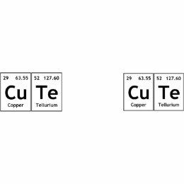 copper tellurium coffee travel mugs zazzle - Periodic Table Copper